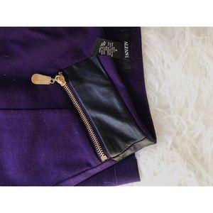 Alfani Purple Pencil Skirt